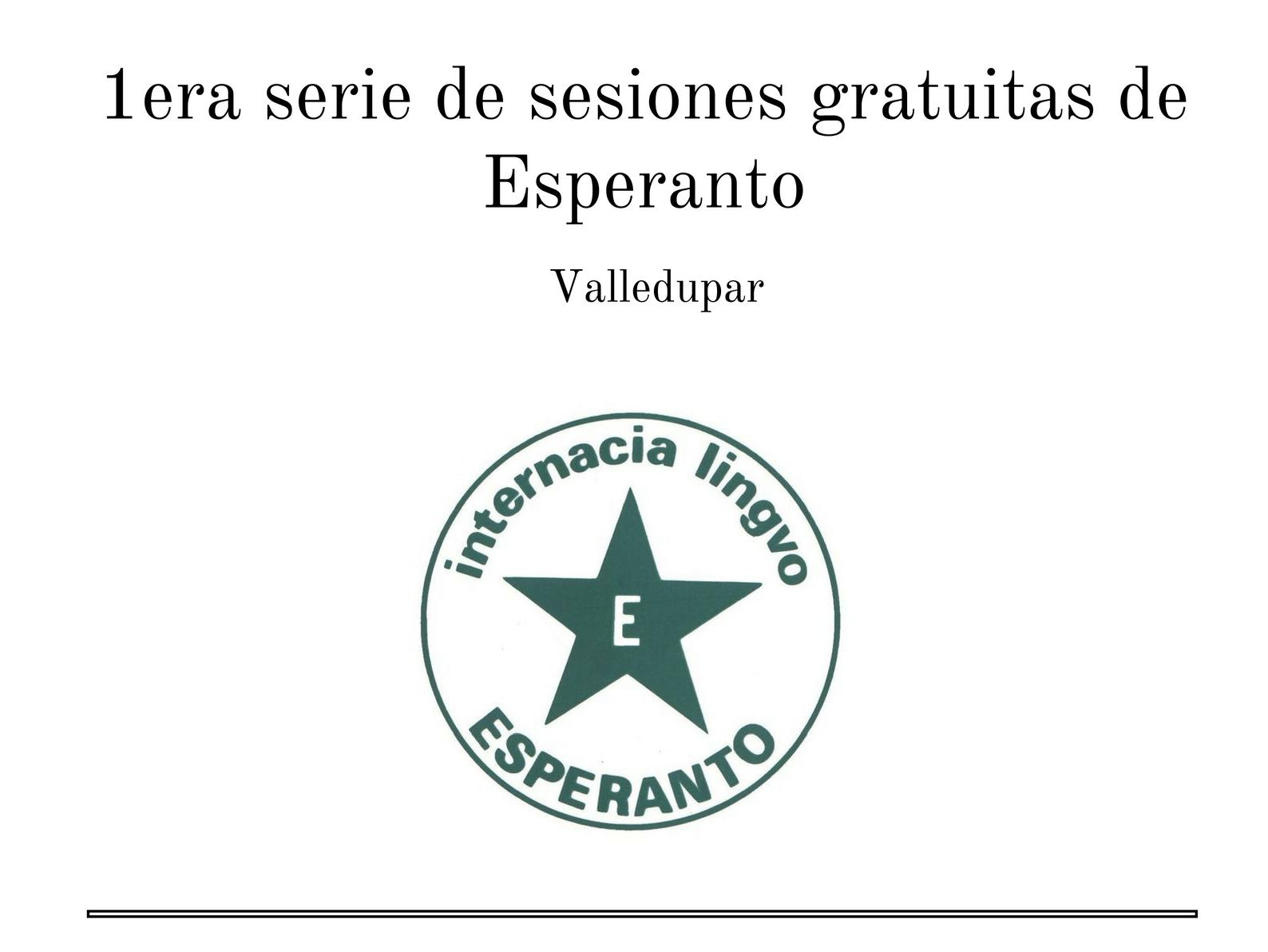Esperanto en Valledupar 2