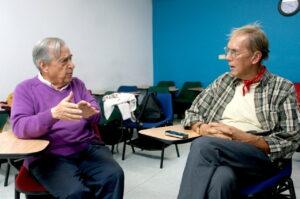 Jen la intervjuo farita de Luis Casas al Luis Jorge Santos-Morales en julio 2017 2