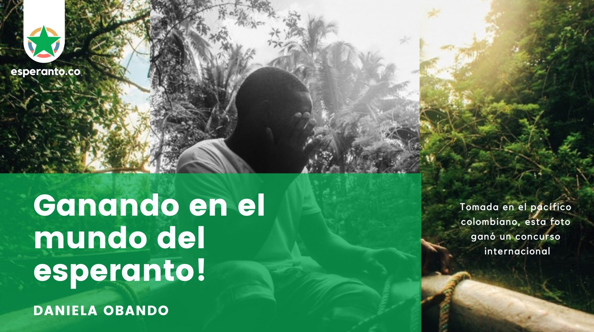 Colombiana aprendiz de Esperanto gana en concurso internacional. 2